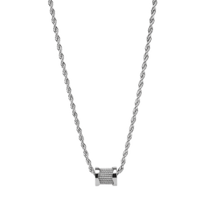 FOREVER WAVES CHARM NECKLACE