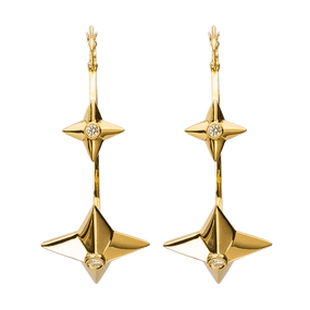 MIX PYRAMID HOOPS EARRINGS