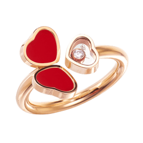 HAPPY HEARTS WINGS RING